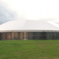 Slurry Tank with PVC dome roof